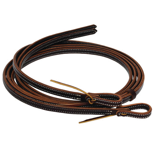 Schutz Bros Professionals Choice Heavy Oiled Doubled & Stitched Split Reins