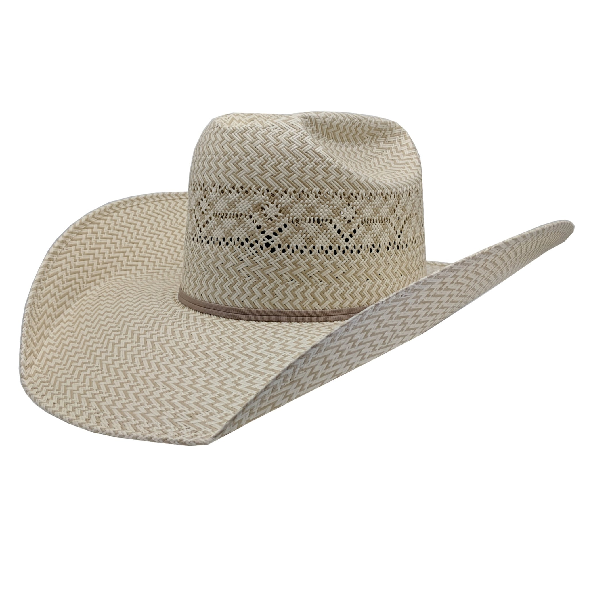 Atwood Hat Company Stockyards Designed Straw Hat
