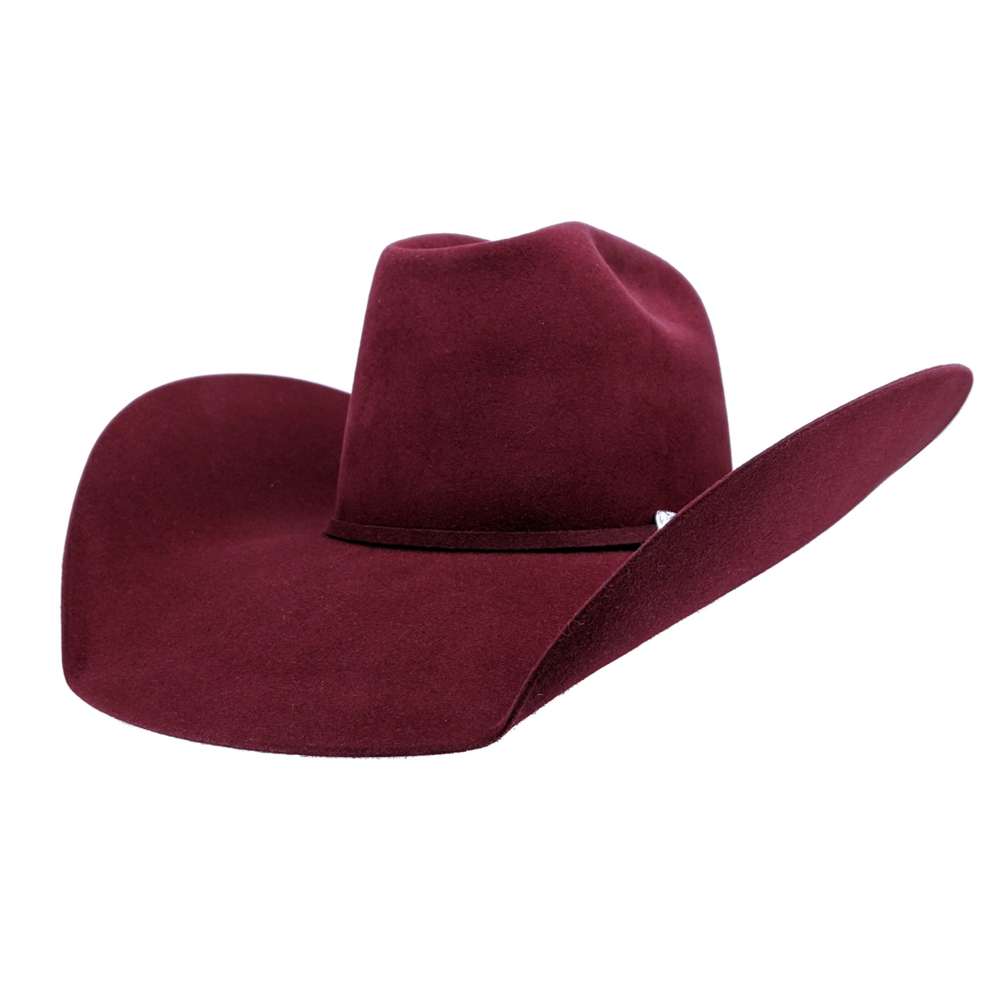 "Atwood Hat Company ""Red Wine"" Felt Hat"