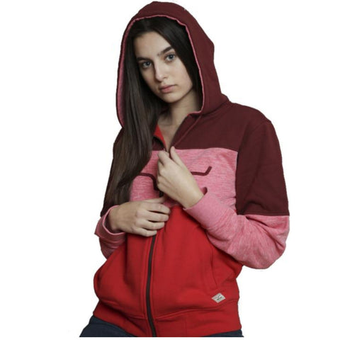 KIMES RANCH LADIES BANDERO HOODIE (RED)