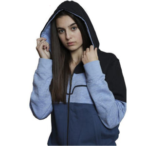 KIMES RANCH LADIES BANDERO HOODIE (BLUE)