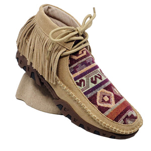 Ferrini Ladies Maya Tan Mocs Boot