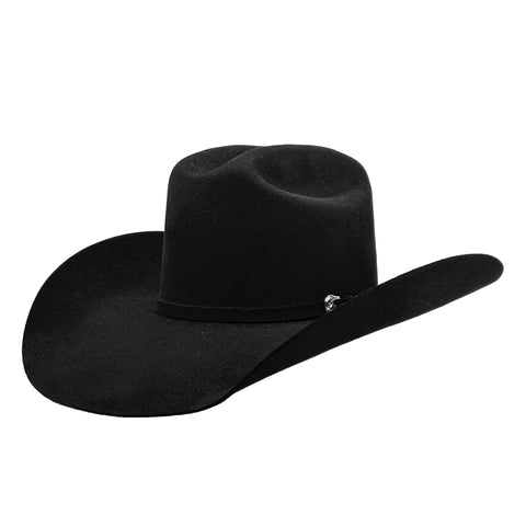 Ariat Black 2x Wool Felt Cowboy Hat