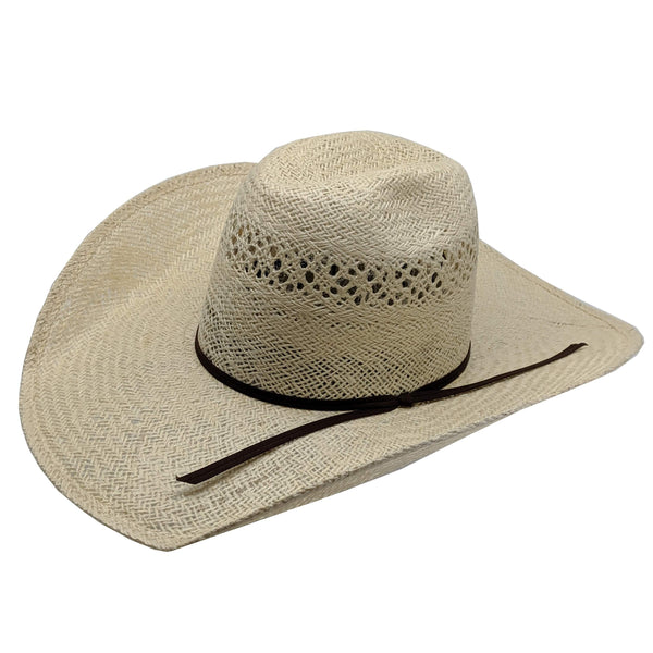 "Rodeo King Jute Straw Cowboy Hat (4 1/2"" Brim)"
