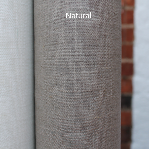 Coated Linen Tablecloth - Natural