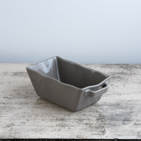 Ceramic Ovenware Dish - Mini Rectangular Mink