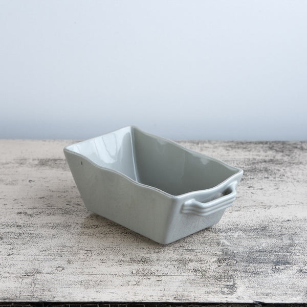 Ceramic Ovenware Dish - Mini Rectangular Taupe