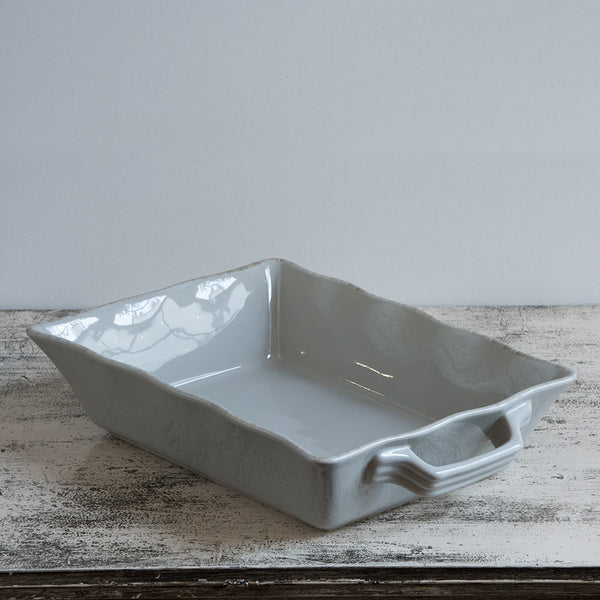 Ceramic Ovenware Dish - Small Rectangular Taupe