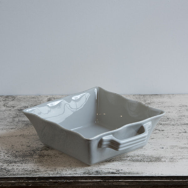 Ceramic Ovenware Dish - Small Square Taupe