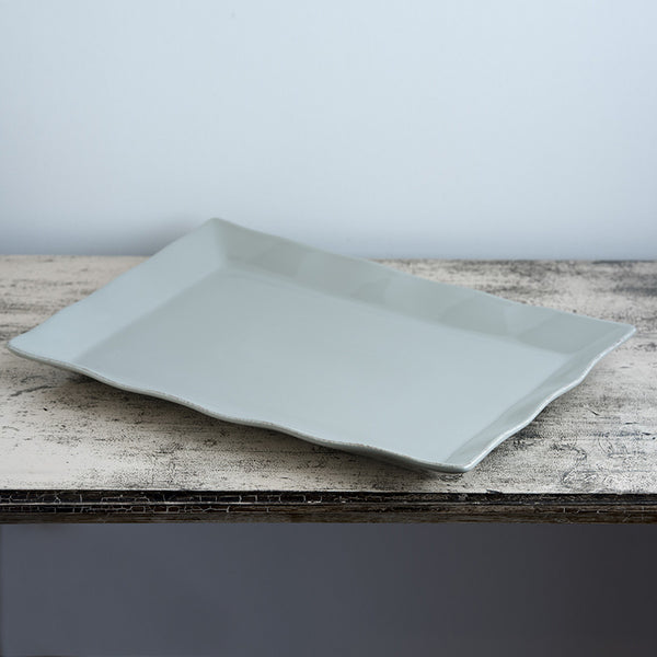 Ceramic Platter - Large Taupe