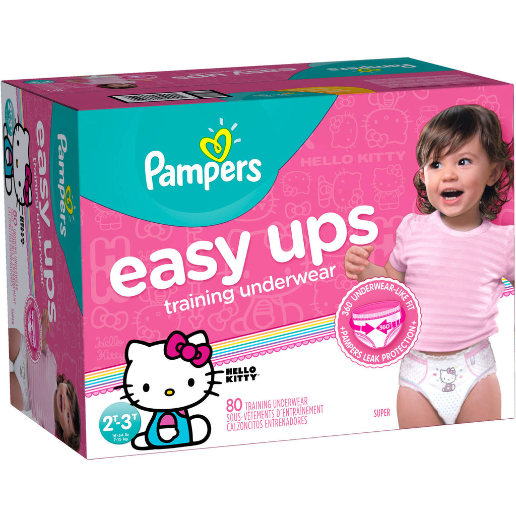 0c0190a0c60 Pampers Easy Ups Girls Training Pants (2t-3t) – Island Cooler ...