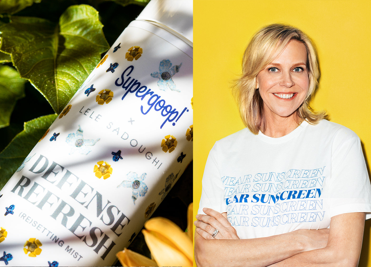 Supergoop! x Lele Sadoughi | Q+A with Holly Thaggard