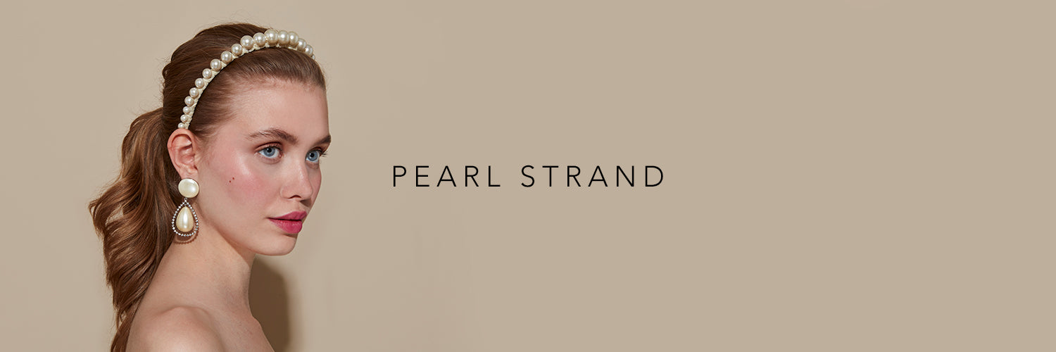 PEARL STRAND HEADBANDS