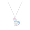 Children's Sterling Silver Unicorn Necklace