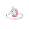 Sterling Silver Adjustable Unicorn Ring