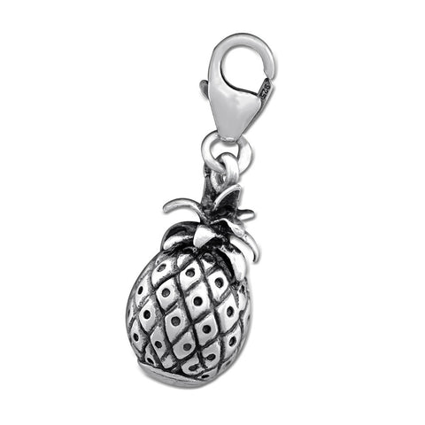 Sterling Silver 3D Van Clip On Charm