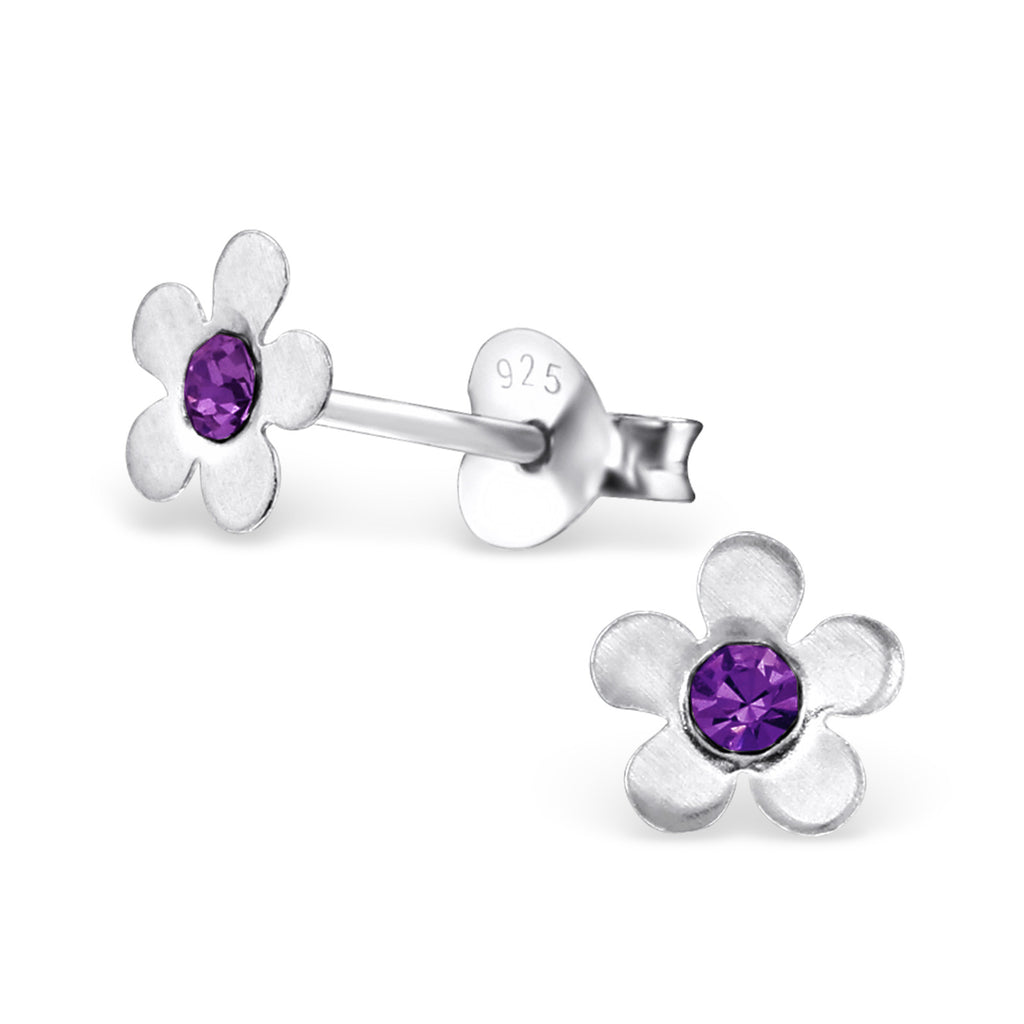 101e0d179 Childrens Sterling Silver Flower Stud Earrings – Melchior Jewellery