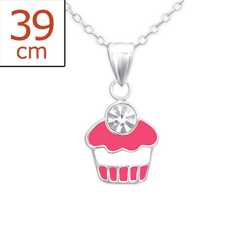 Children's Sterling Silver Cute Unicorn Necklace