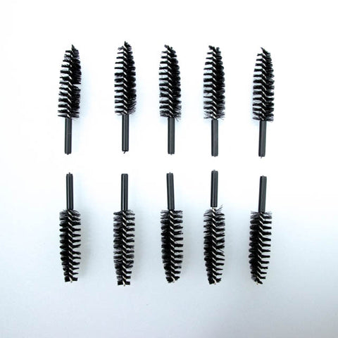 Replacement Heads for Covered Lash Brush (10 packs of 10)