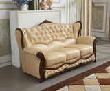 Christina Luxurious Genuine Leathers Italian Design Sofa Warehouse Deal