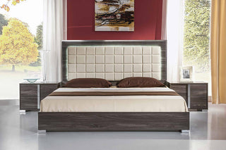 Quality Bedroom Furniture   Italian High Gloss White Or Grey Premium Quality Complete Bedroom