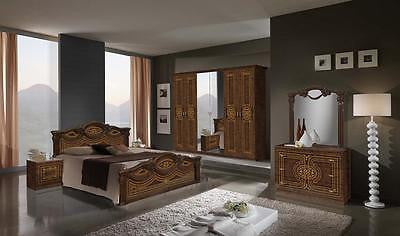 Italian Bedroom Set with 4 door wardrobe for £889.00  ON SPECIAL OFFER