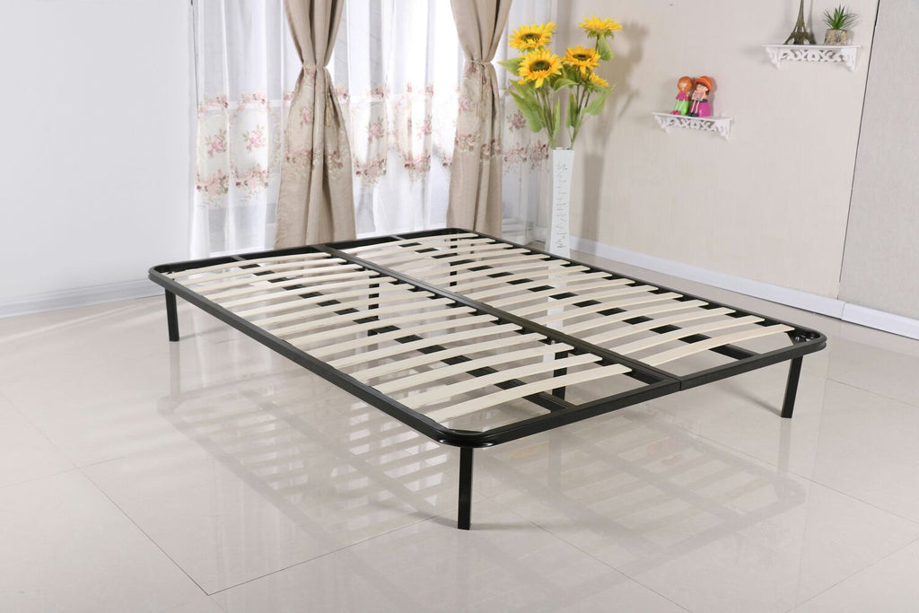 Slatted Folding Guest Bed Base Sprung Slat Available In