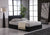 BILANCIO  Faux Leather Ottoman Storage Bed Colours: Black, Brown and White  in All Sizes