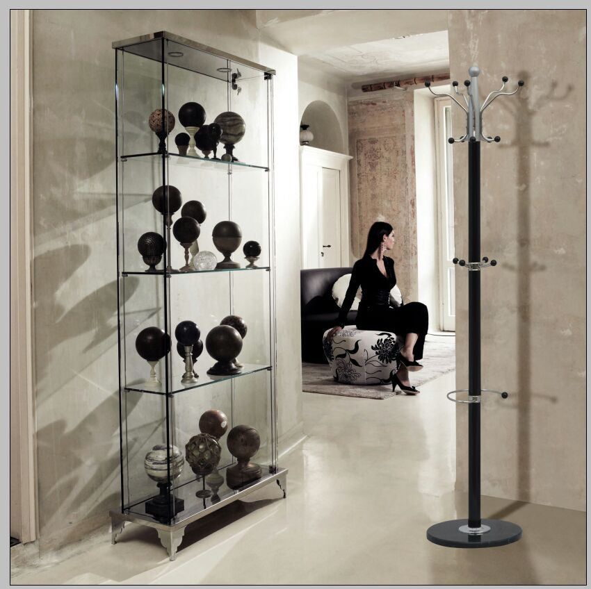 Metal Stand and Marble Base Coat, Clothes, Bag, Umbrella rack, stand available in Grey Black Golden & White