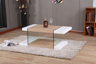 MODERNIQUER INTERO Coffee Table Living Room Furniture Matching Dining Modernique