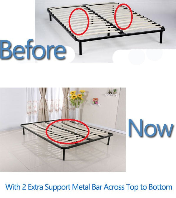 Slatted Folding Guest Bed Base Sprung Slat available in Single Small Double Standard Double King Super King EU Double