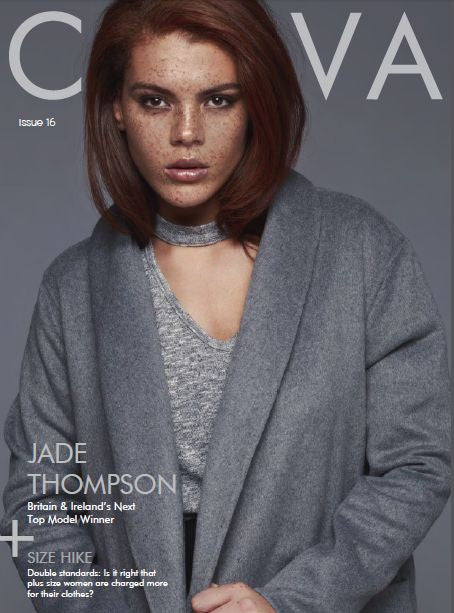 Curva Magazine x Lushes London