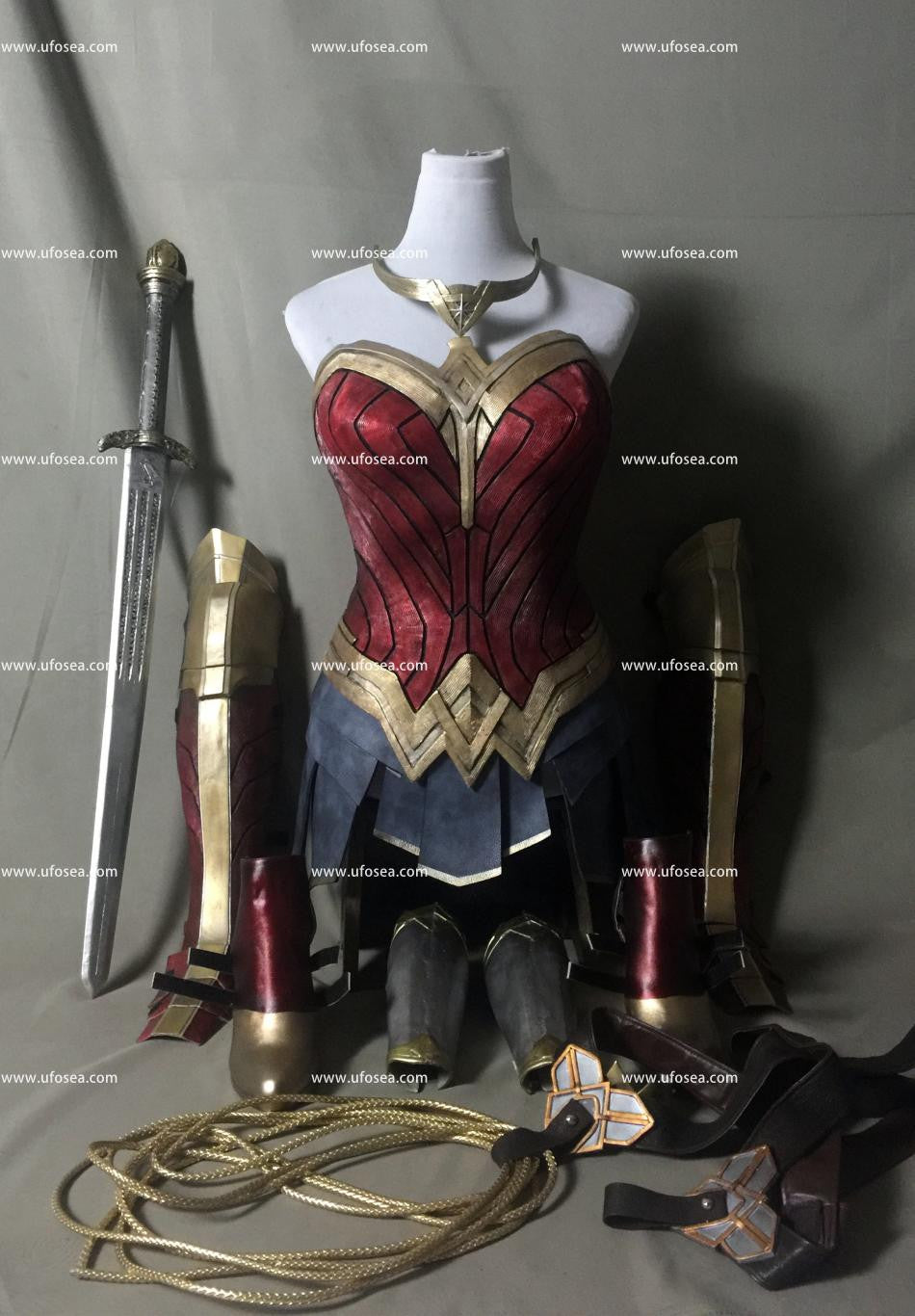 Wonder Woman armor and cosplay prop