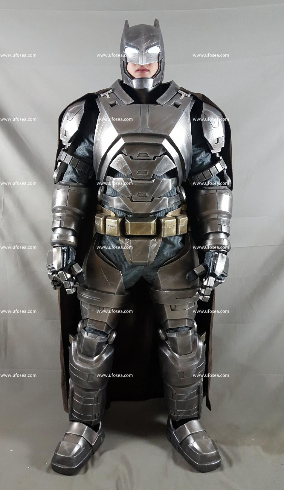 Batman v Superman Dawn of Justice Batman Armor High degree of reduction