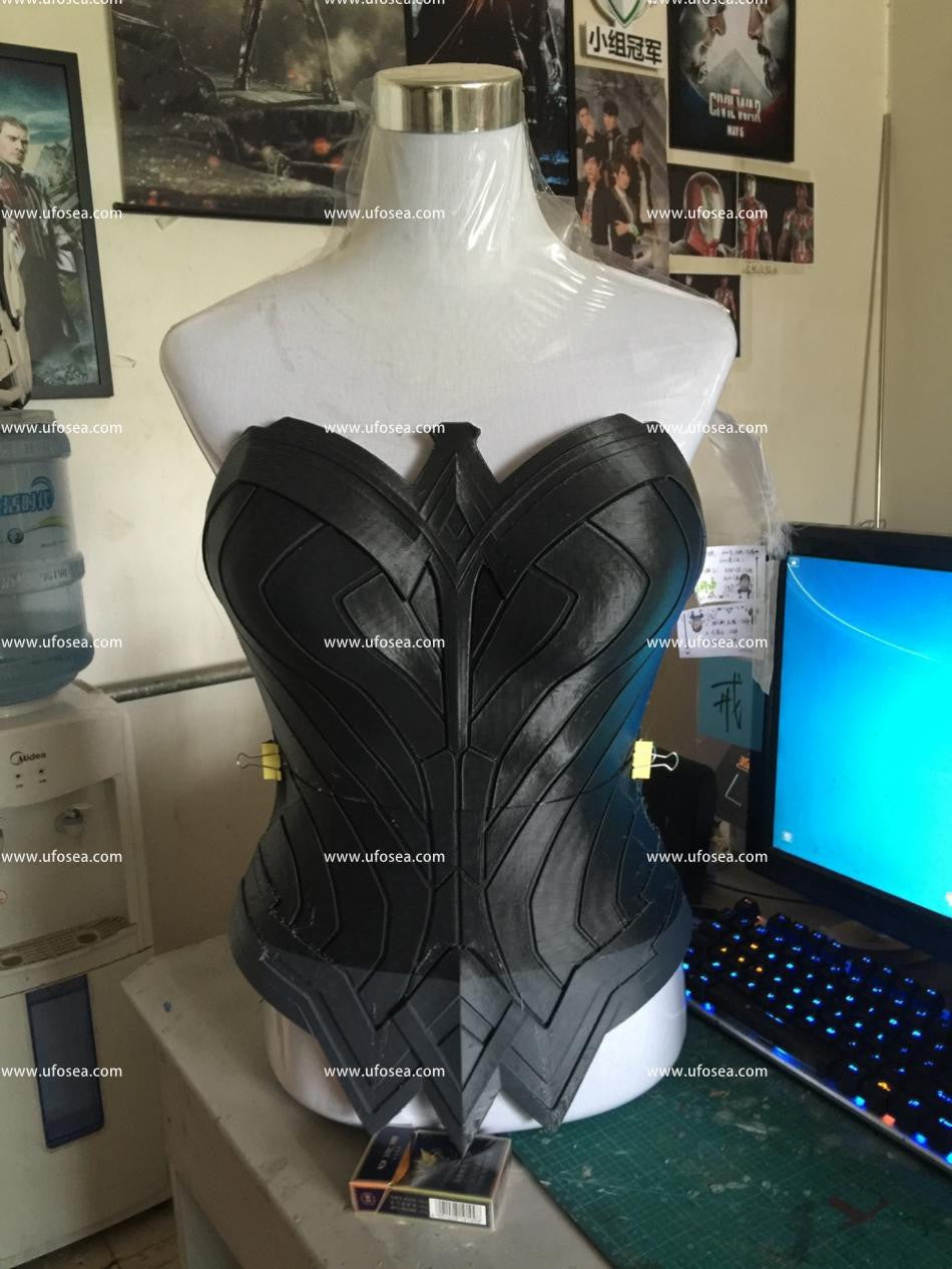 Batman v Superman Dawn of Justice Wonder Woman armor and cosplay prop
