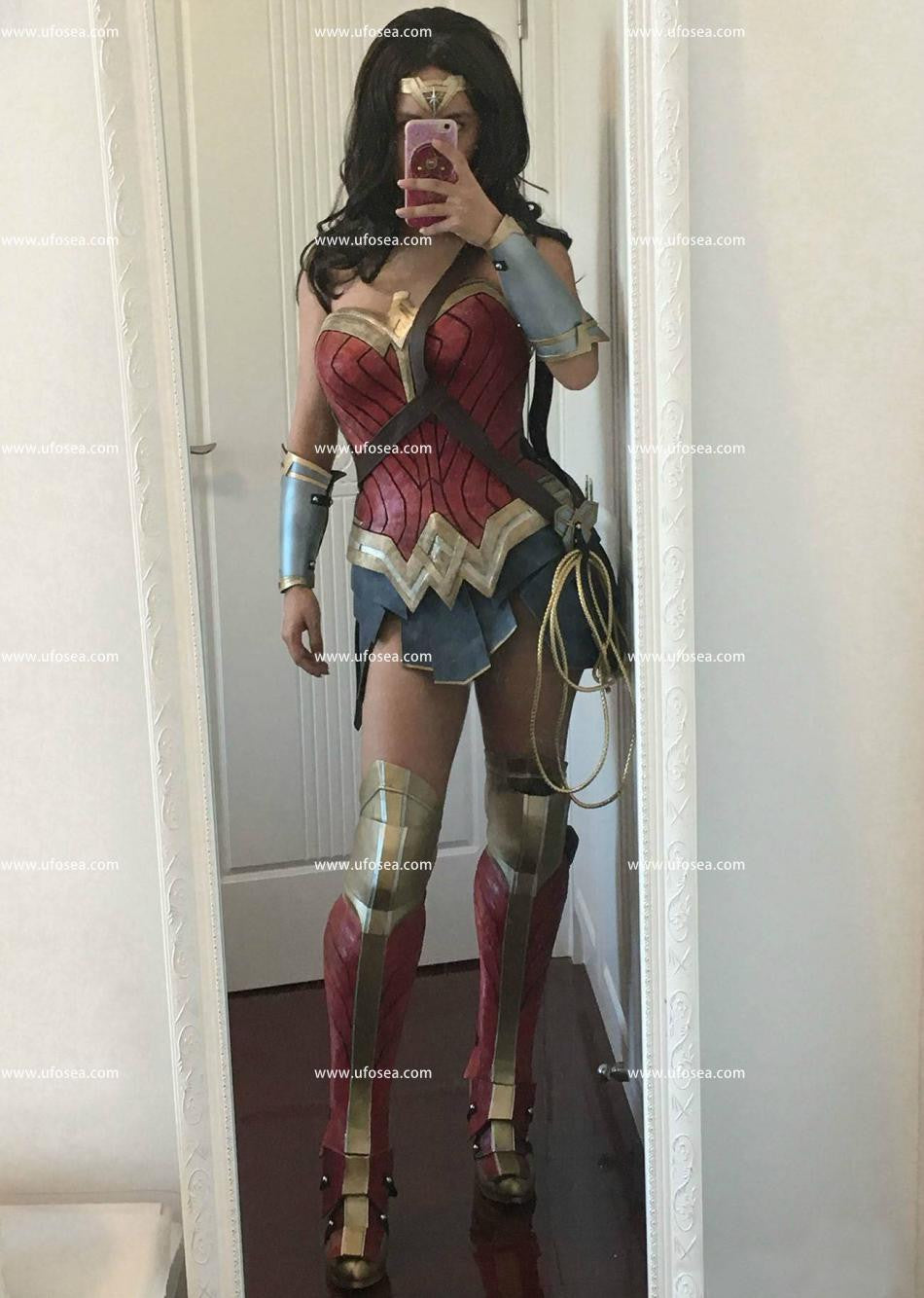 Batman v Superman Dawn of Justice Wonder Woman armor