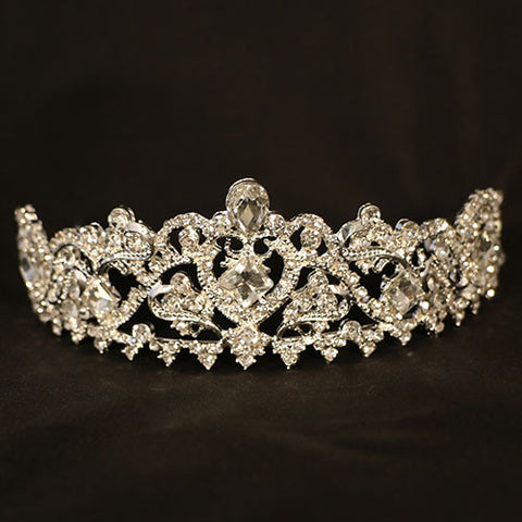 Handmade Silver and Crystal Crown