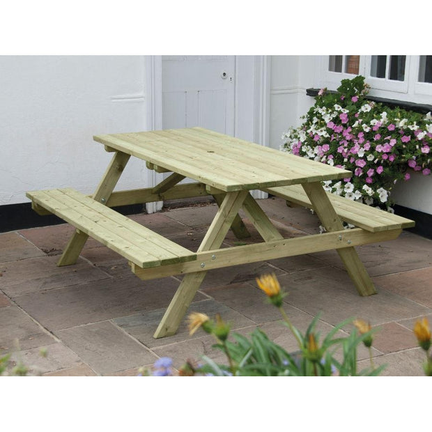 Standard A Frame Picnic Table 150cm x 150cm - Ruby UK