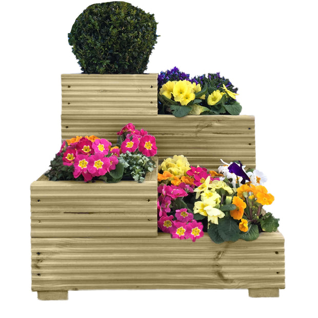 4 Tier Planter - Ruby UK