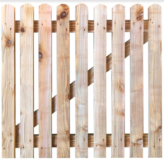 Handmade Cedar Picket Gate