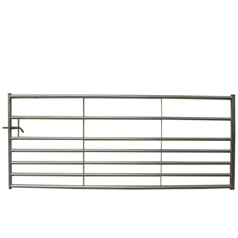 7 Bar Galvanised Metal Gate
