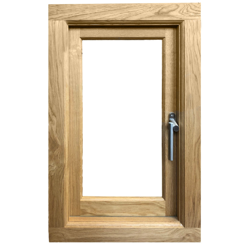 Top Handing Solid Oak Window Frame - Ruby UK