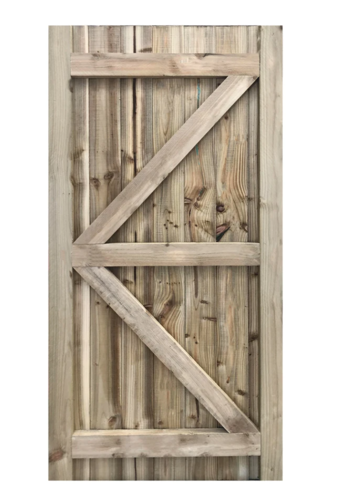 Framed Featheredge Gate
