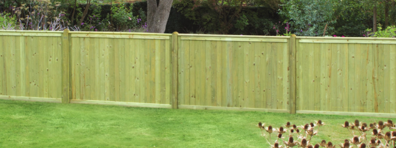Tonge & Groove Fence Panel
