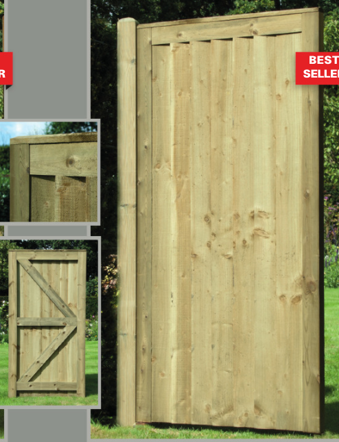 Side Gate Featheredge Premium Frame