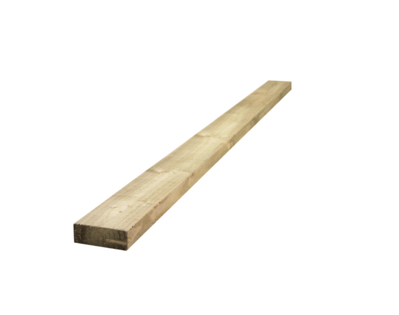 "6"" x 2"" Pressure Treated Timber Boards"