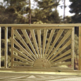 Sunshine Decking Panel - Ruby UK