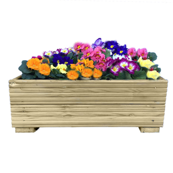 Lightweight Decking Wooden Garden Planter 0.6M (2ft) 1.2M (4ft) or 1.8M (6ft)