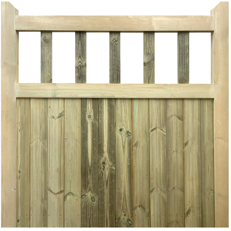Cottage Mortise & Tenon Side Gate (Single)