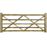 Diamond Brace Wooden Field Gates - Various Sizes - Ruby UK